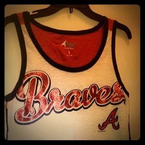 Carla Banks Atlanta Braves tanktop